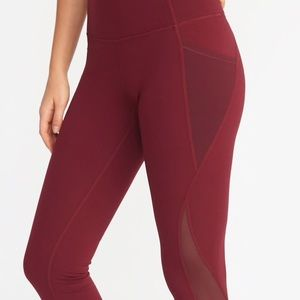 Old Navy Active Leggings with Side Pockets